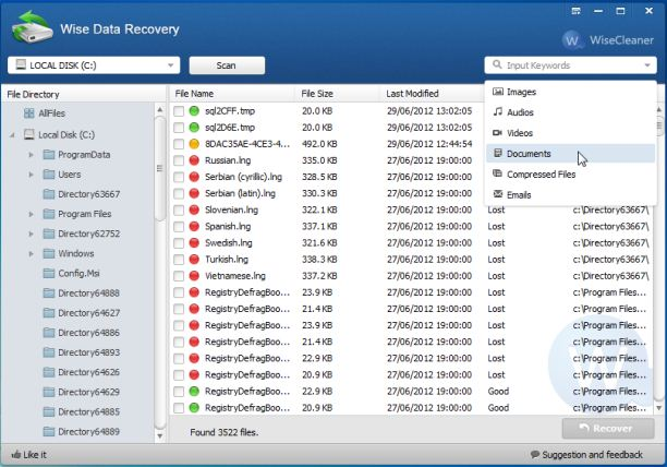 Wise Data Recovery Latest Version