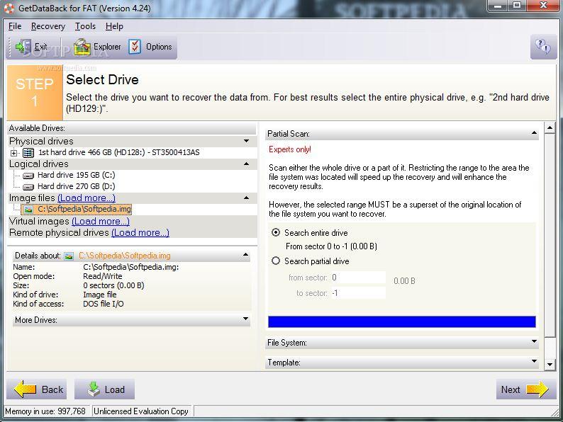 getdataback for ntfs 3.32 license key