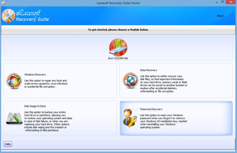 Lazesoft Recovery Suite Latest Version