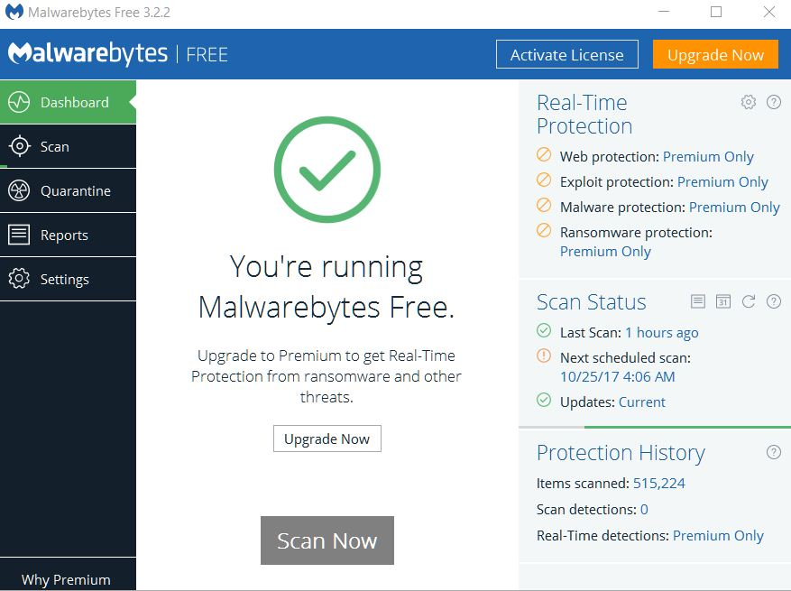 Malwarebytes Free Latest Version