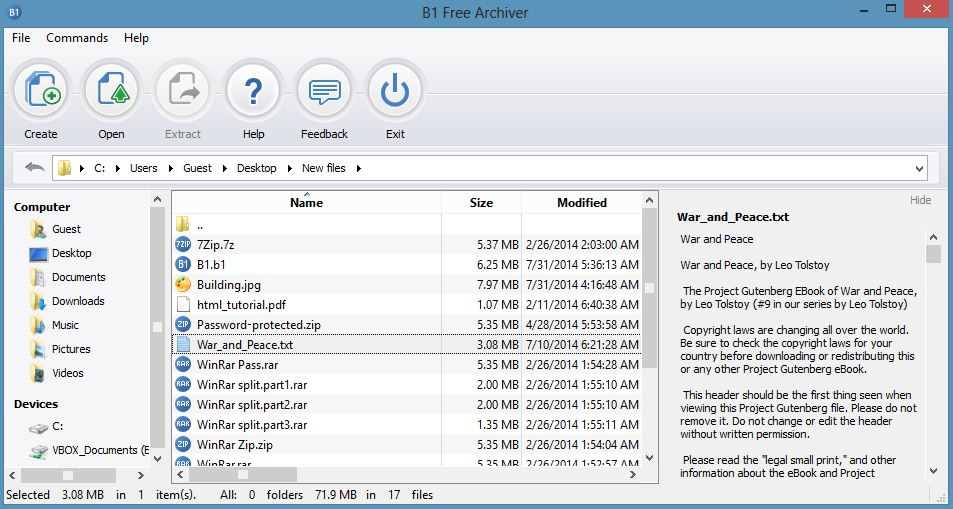 Download B1 Free Archiver [Windows, Mac & Linux] - FileHippo