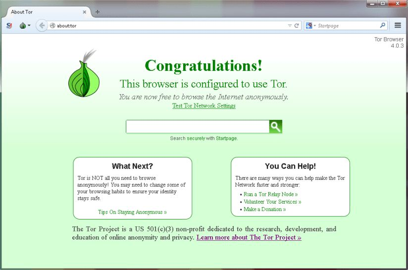 Tor Browser Latest Version
