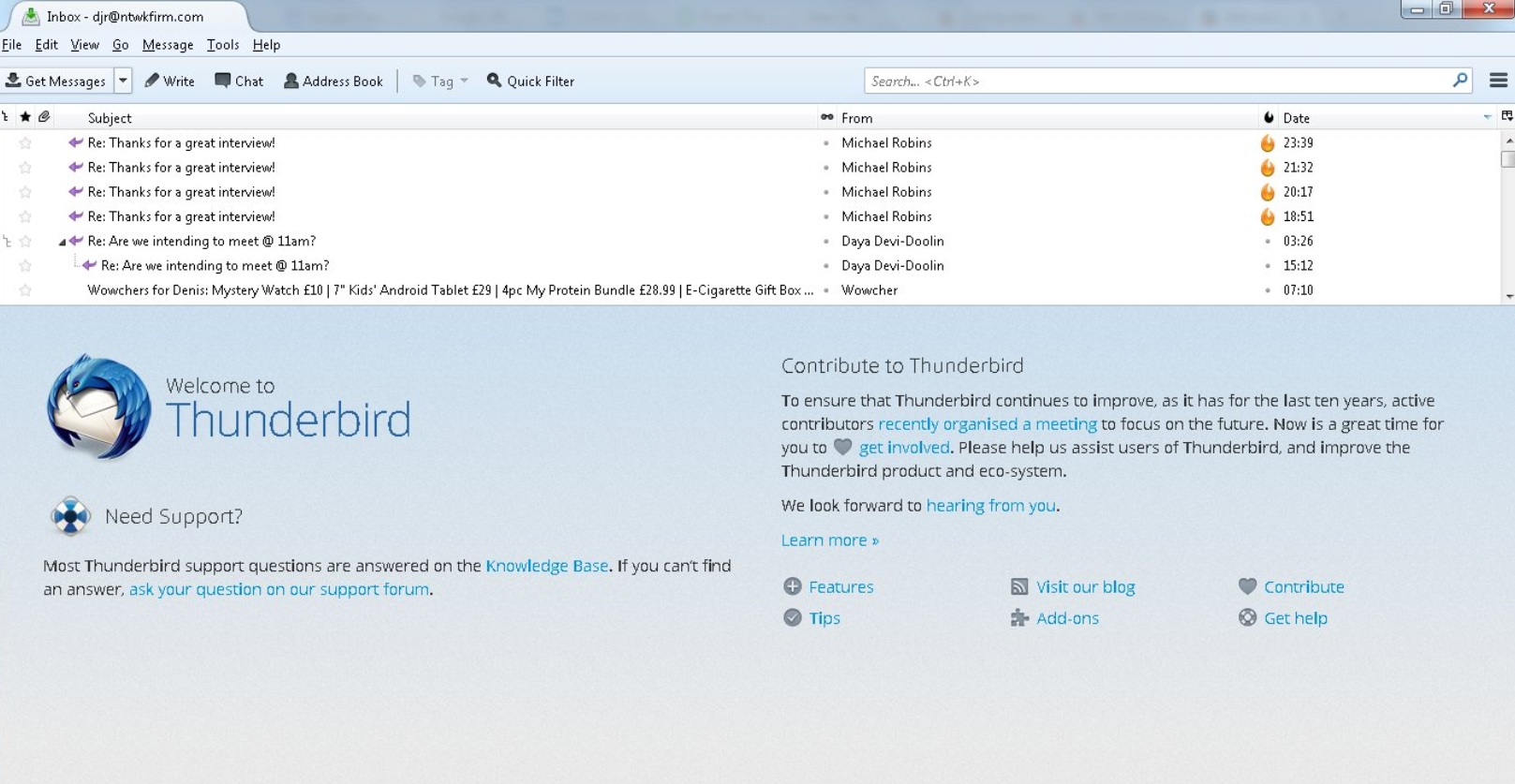Thunderbird Latest Version