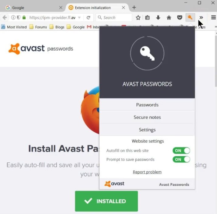 Avast Password Manager Latest Version