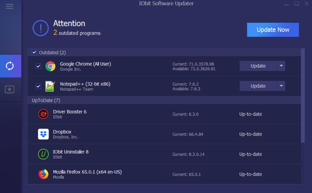 IObit Software Updater Latest Version